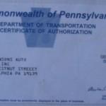 Licensed Car Dealer - Pennsylvania