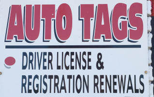 Auto Tags / Notary Public