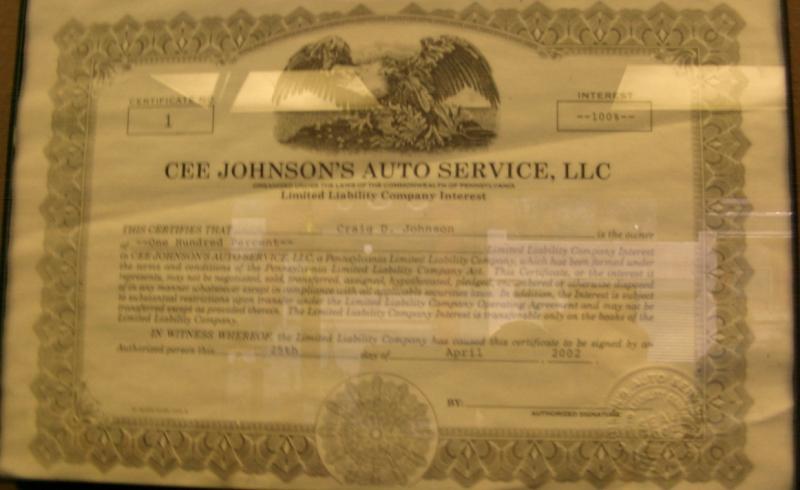 Cee Johnson's Auto Is Insured