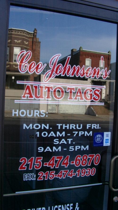 Auto Tags Office - Philadelphia